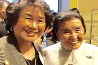 Sandy Lee with Cecelia Chiang
