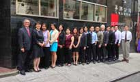 Lee New York staff